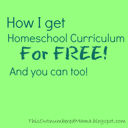 How I get homeschool books and supplies for FREE!