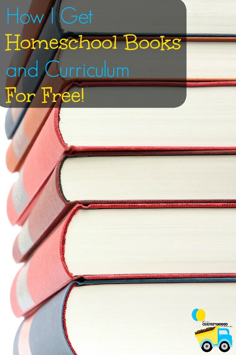 Homeschooling curriculum and books can get expensive! I've found more and more ways to pinch pennies and get the most bang for my buck. This is by far my favorite way to get homeschool books and curriculum for free!