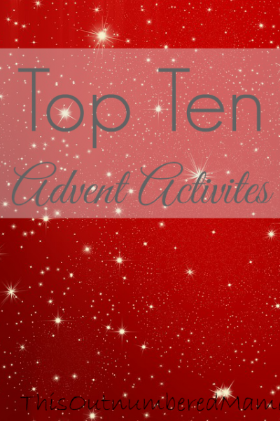 Top Ten Advent Activities Round-up!