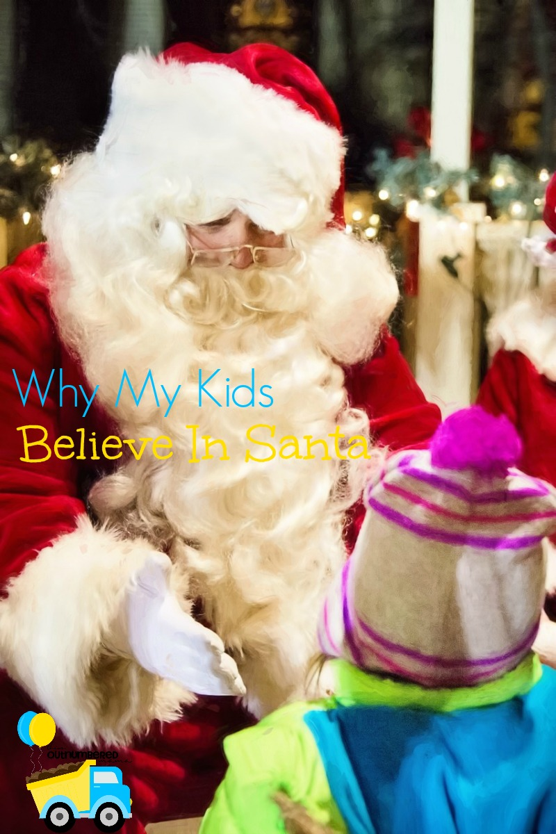 Why I teach my kids to believe in Santa, even though many are now choosing not to.