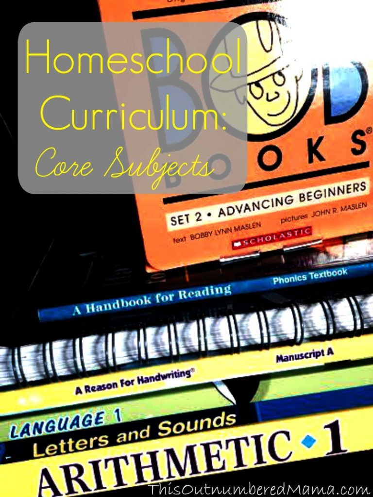 Homeschool Curriculum: Core Subjects. our first grade curriculum choices for our gifted four year old.