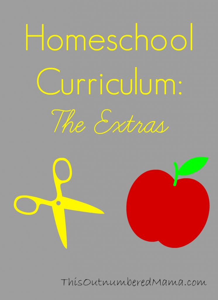"My choices in homeschool curriculum for the ""extra"" subjects for my first grader"