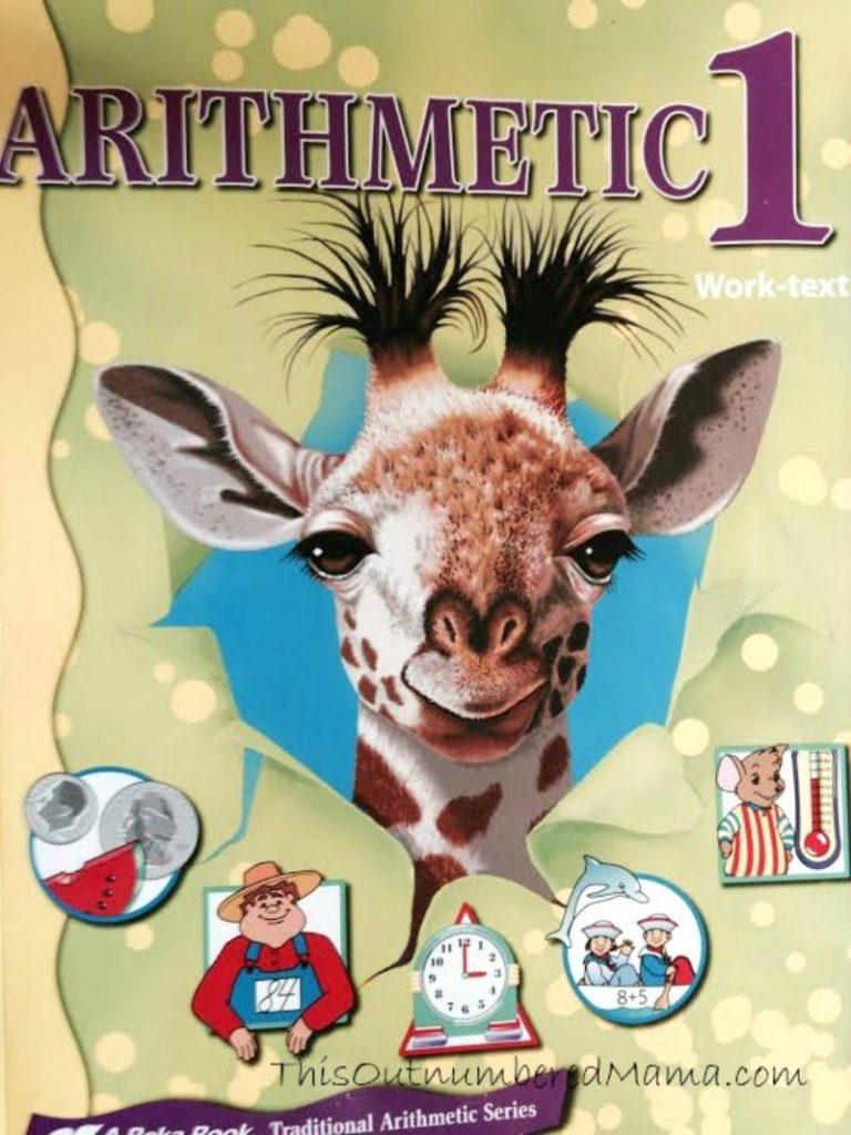 Abeka Arithmetic 1, Our Math Curriculum Choice