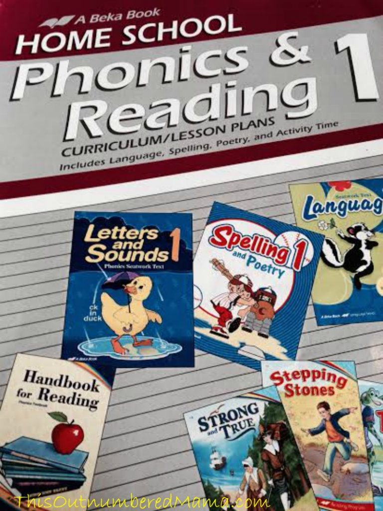 Abeka Phonics and Reading, Our Reading Curriculum
