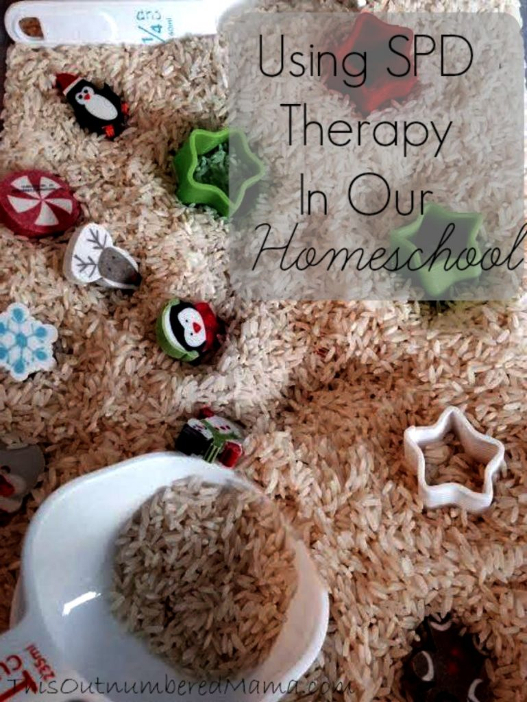 How we use SPD therapy activities in our homeschool to make our day more peaceful