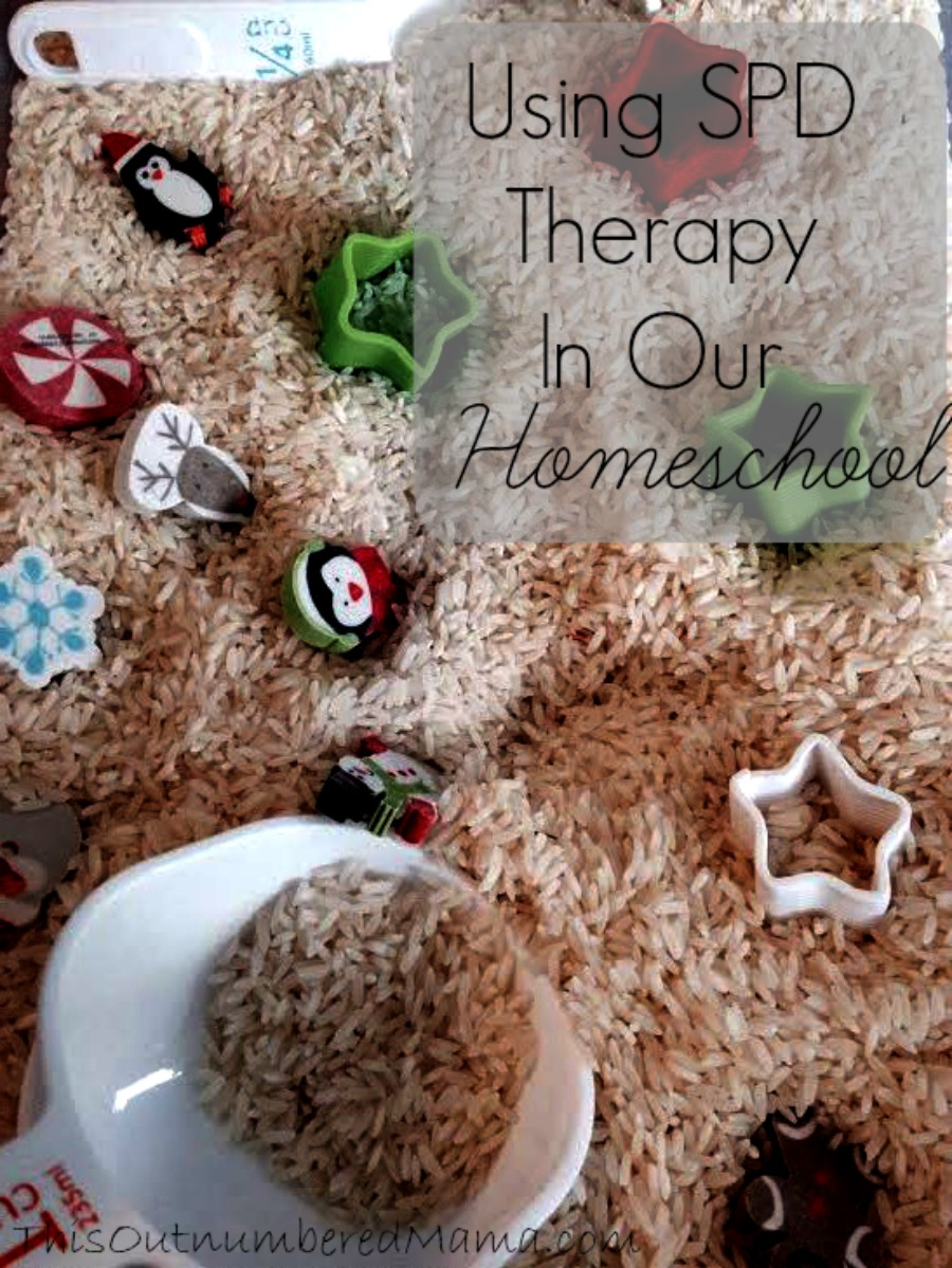 Using SPD Therapy in our Homeschool