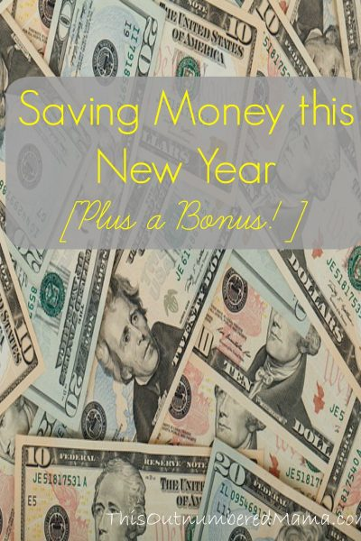 Three Ways to Save Money this New Year [Plus a Bonus!]