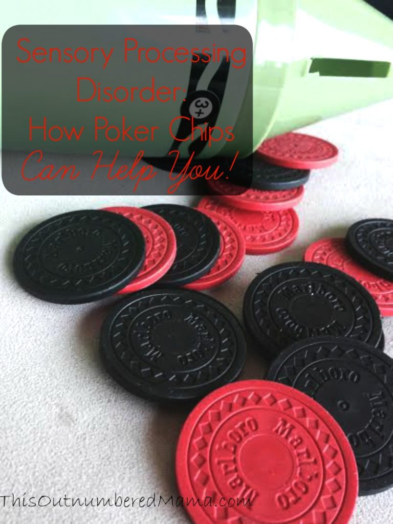 Using poker chips with my son who has sensory processing disorder has been a blessing for our family. Check out all the ways poker chips can help!