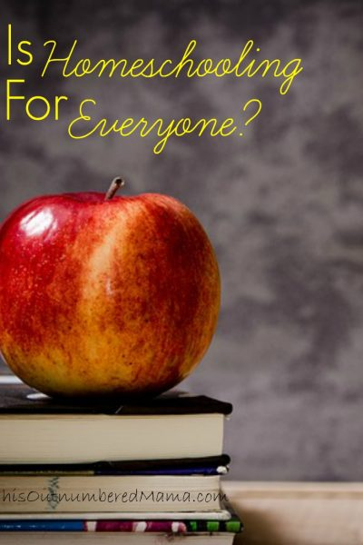 Is Homeschooling for Everyone?
