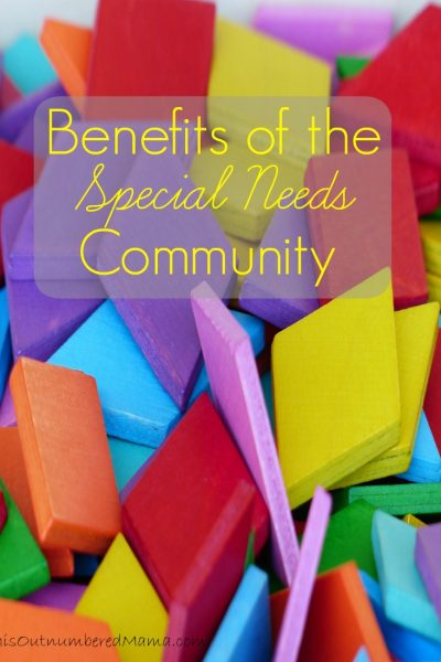 Benefits of the Special Needs Community