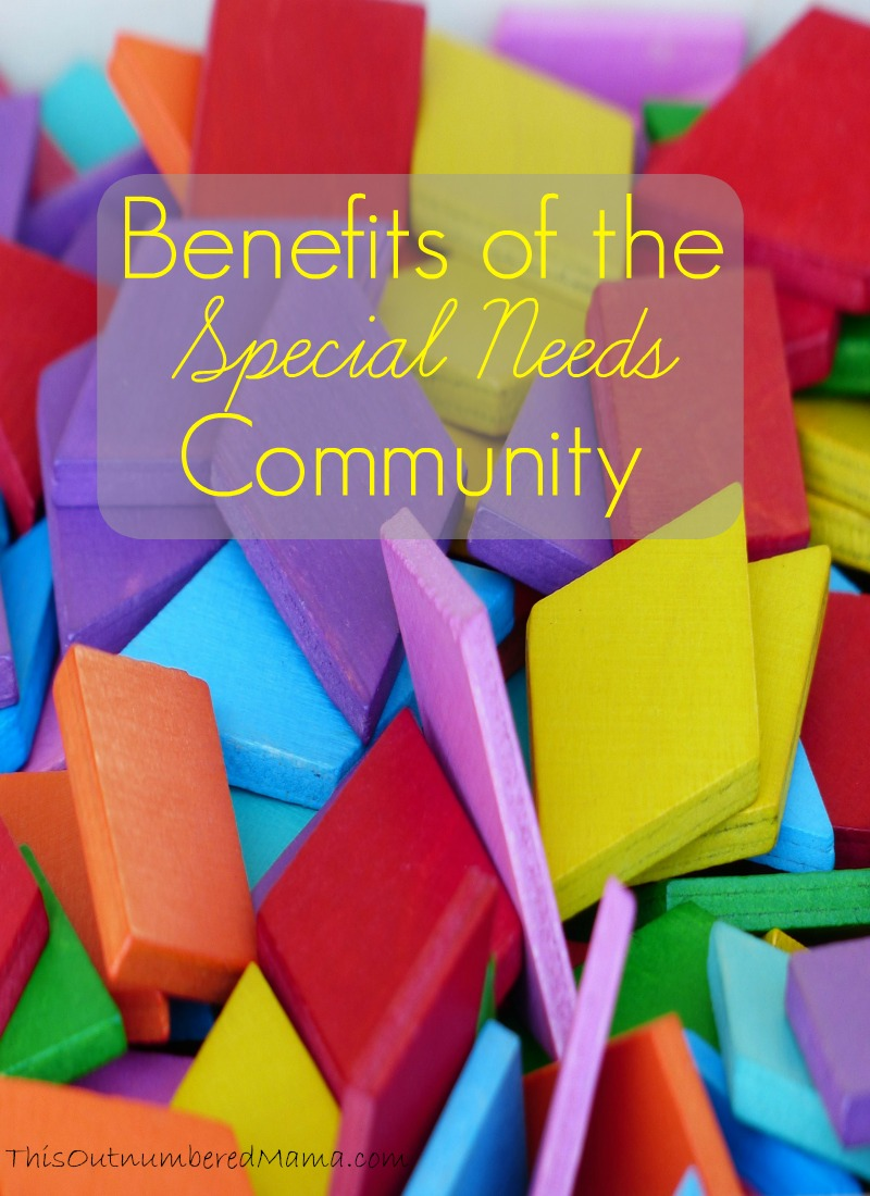 Being in the special needs community has some pretty hefty benefits. We get what you're going through, we share our things, and we have all the secrets!