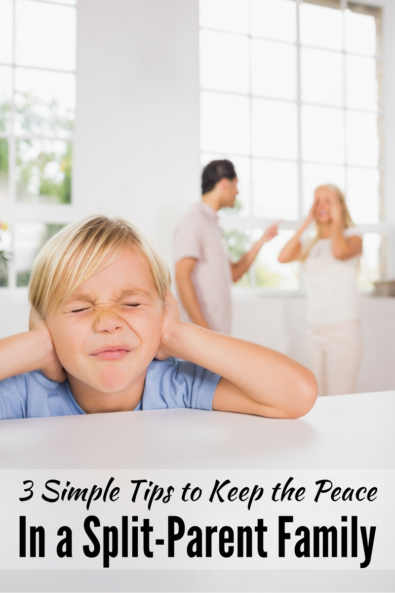 Three Simple Tips for Keeping the Peace in a Split-Parent Family
