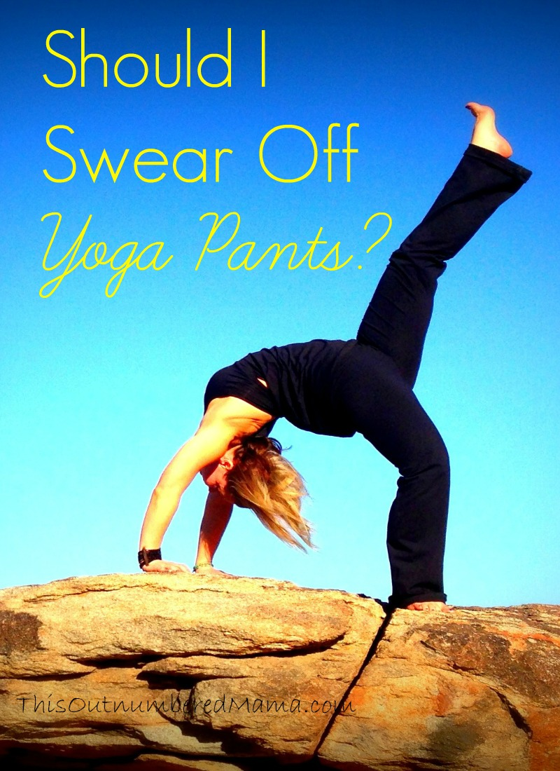 Should I swear off of yoga pants? What is the Christian thing to do?