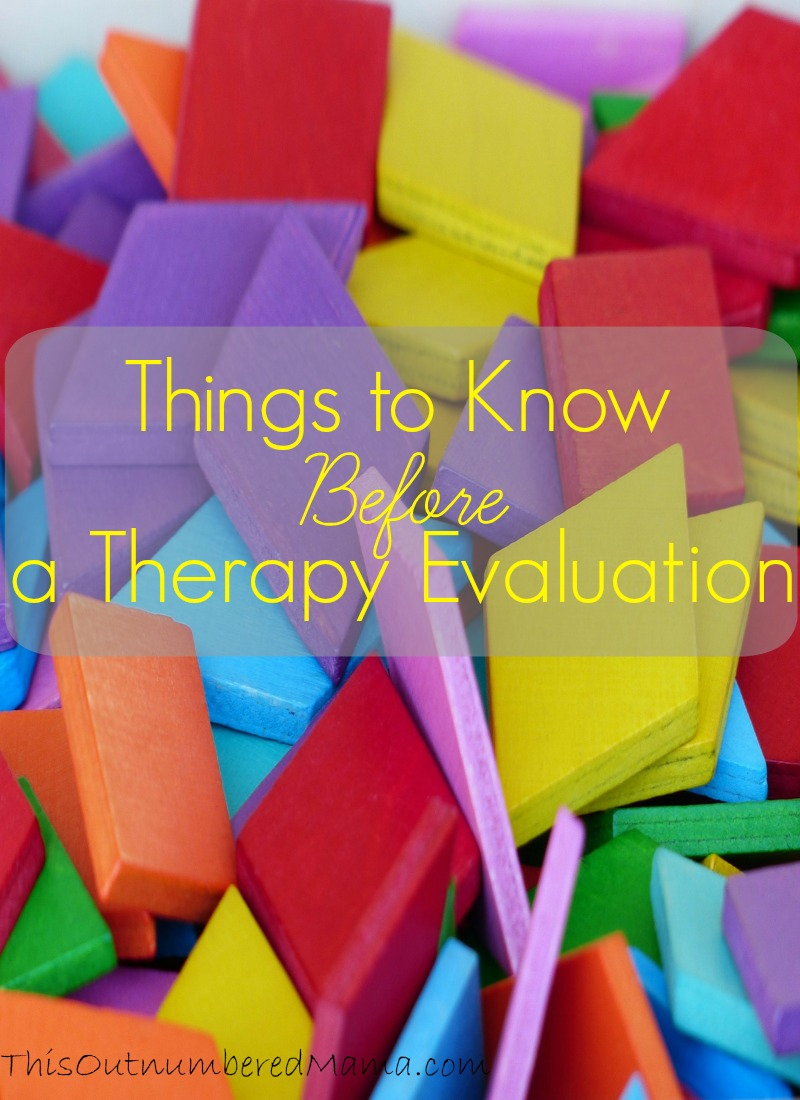 Therapy evaluations can be overwhelming with the fear and hope and anticipation surrounding them. Here's some tips to prepare!