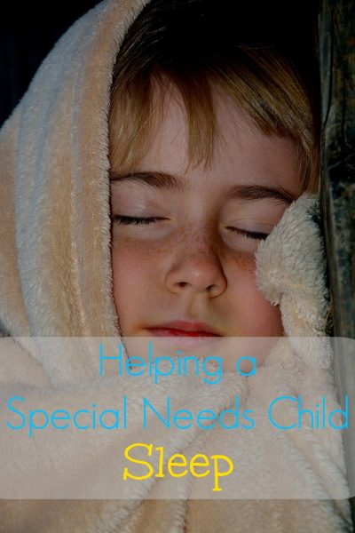 Helping a Special Needs Child Sleep