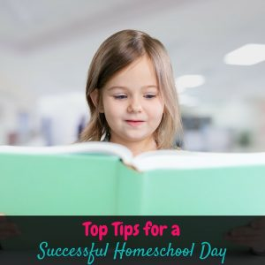 Homeschooling is no easy task, but there are things you can do to make your day successful. Check out my top five tips!