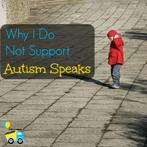 As a mother of a child with autism, I cannot support autism speaks. In this post I outline a few of the main reasons why you shouldn't support them either.