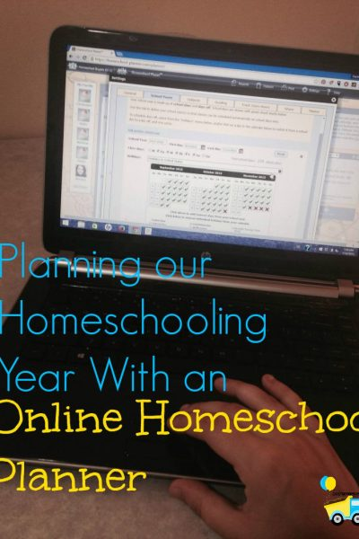 Planning Our Homeschooling Year with an Online Homeschool Planner