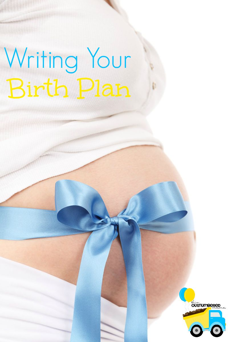 Writing Your Birth Plan
