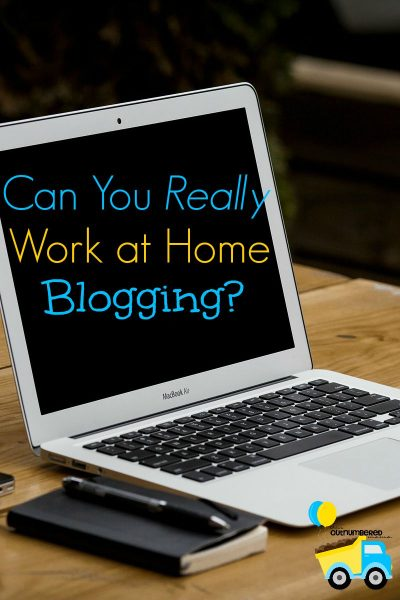 Can You Really Work at Home Blogging?
