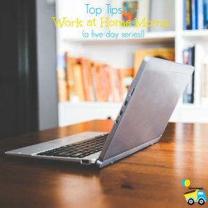 Being a work at home mom is no easy task, so I'm sharing my top tips for work at home moms in this 5 day series!