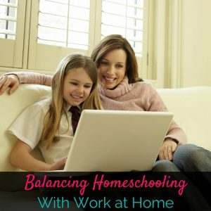 Balancing homeschooling with working at home is no easy task, so I'm sharing my top tips on day three of this 5 day WAHM series!