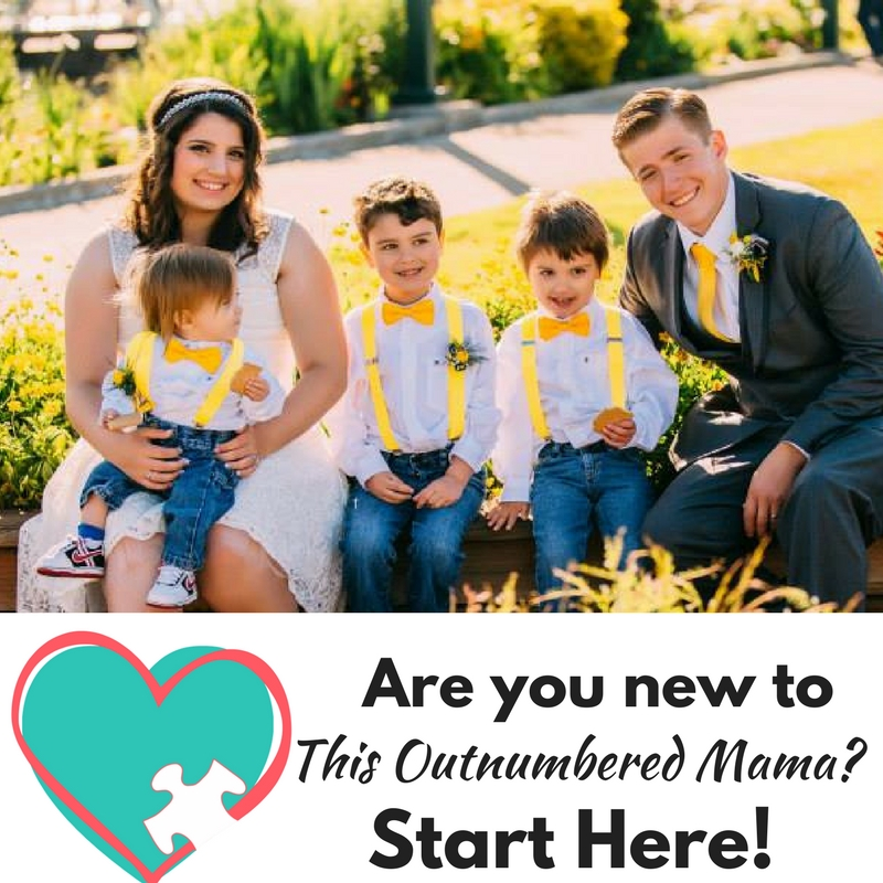 New to This Outnumbered Mama? Check this out!