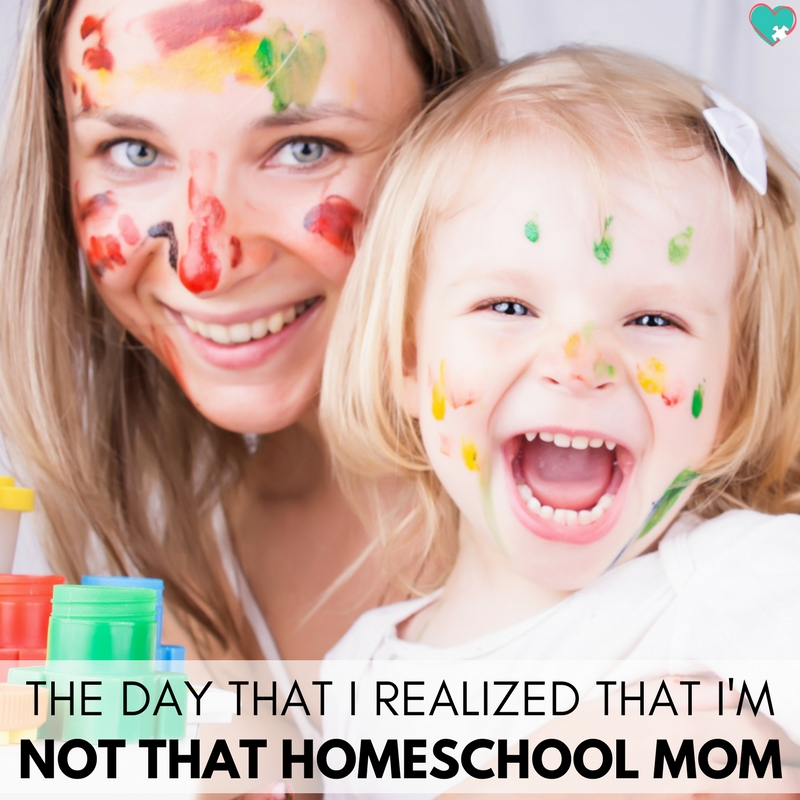 The Day I Realized That I'm Not THAT Homeschooling Mom