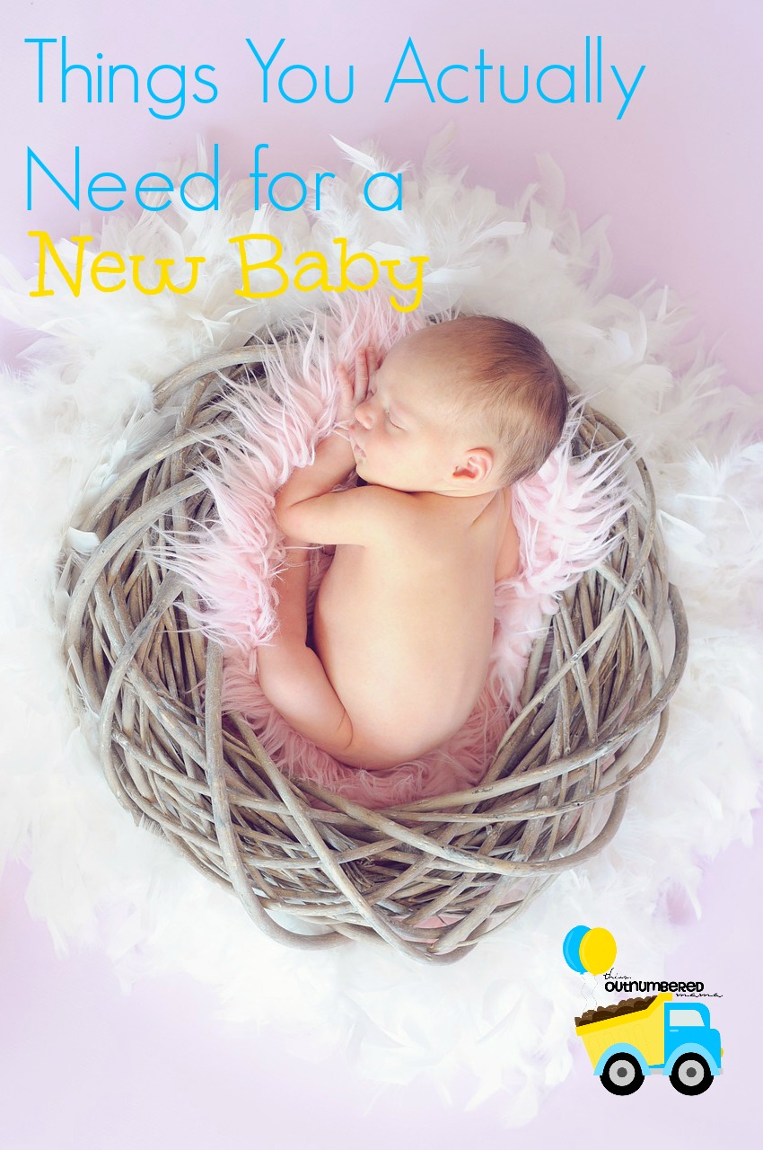 Things You Actually Need For a New Baby