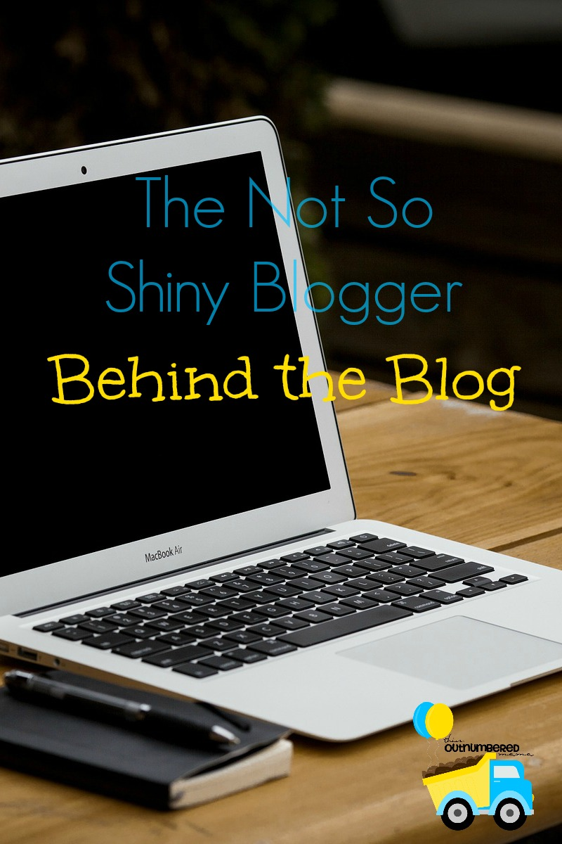 The Not So Shiny Blogger Behind the Blog
