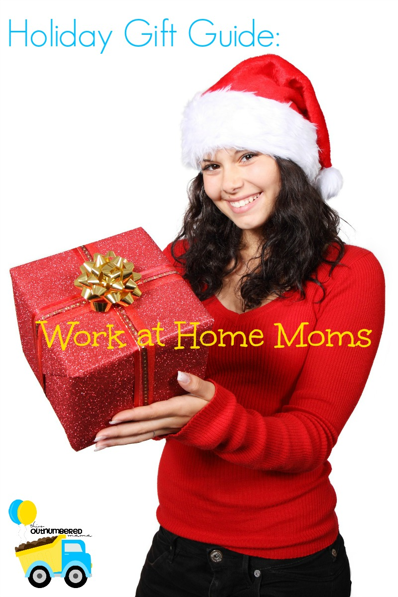 It can be hard knowing what to get for the people in your life. This holiday gift guide will help you find the perfect gift for any work at home mom!