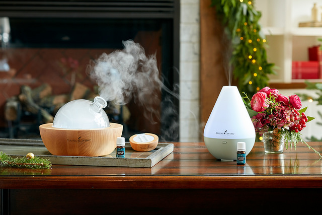 young living essential oils diffusers
