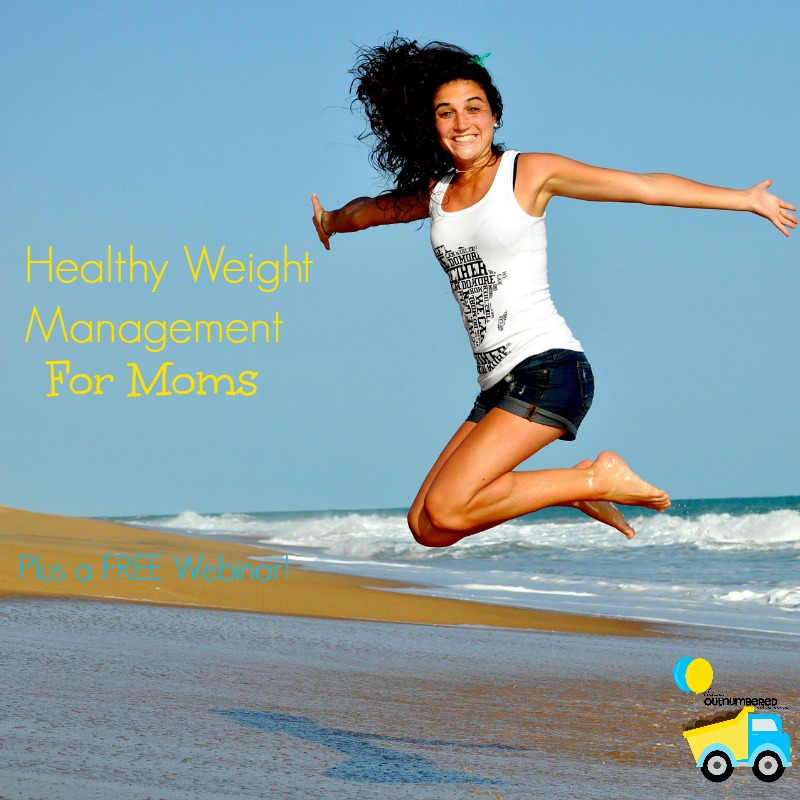 As moms we tend to put ourselves last, but if we keep doing that our health will go downhill fast! It's time to focus on healthy weight management for Moms! Plus, a free webinar filled with tips and tricks for fitting healthy weight management into your busy lifestyle and a few fun giveaways too!