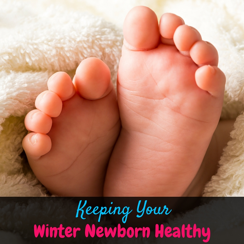 Keeping your Winter newborn healthy is no easy task. It seems like the world is covered in germs! Take these steps to keep your family healthy this season!