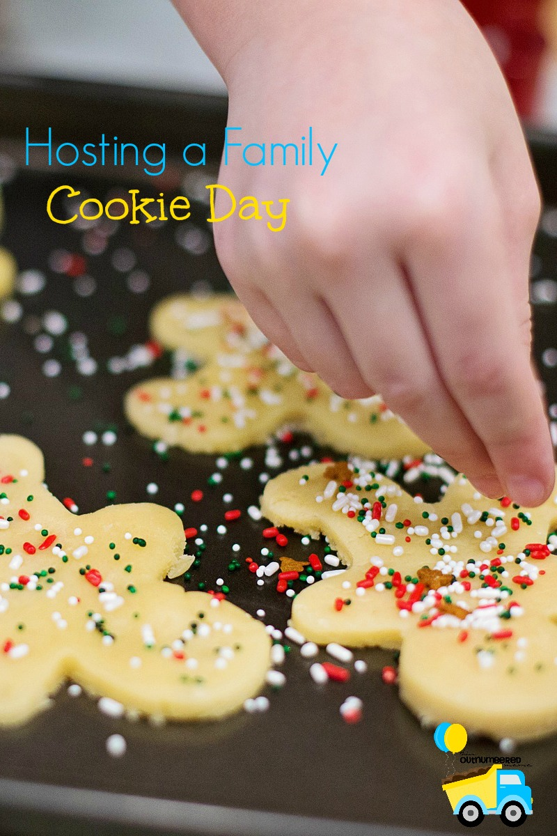 Hosting a Family Cookie Day