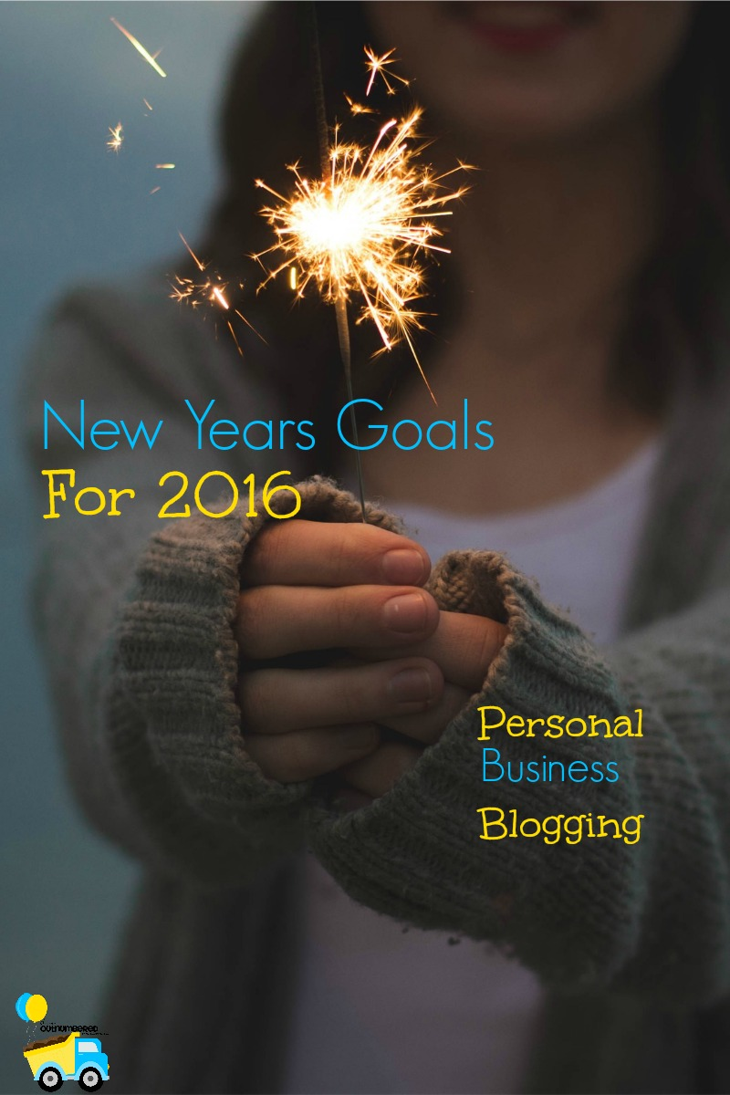 New Year, New You, right? I'm sharing my personal, business, and blogging goals for 2016 with you all! Keep me accountable!