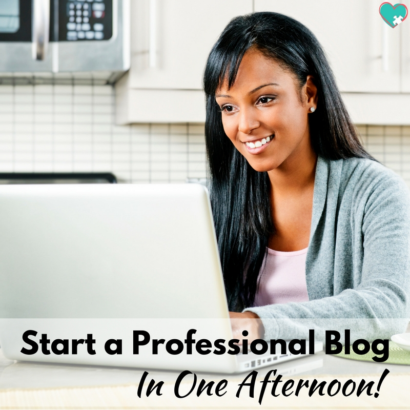 How to Start a Blog in One Afternoon!