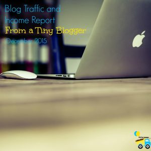 I've decided to share a blog traffic and income report even though I'm still a tiny blogger because I want to inspire those smaller than me.