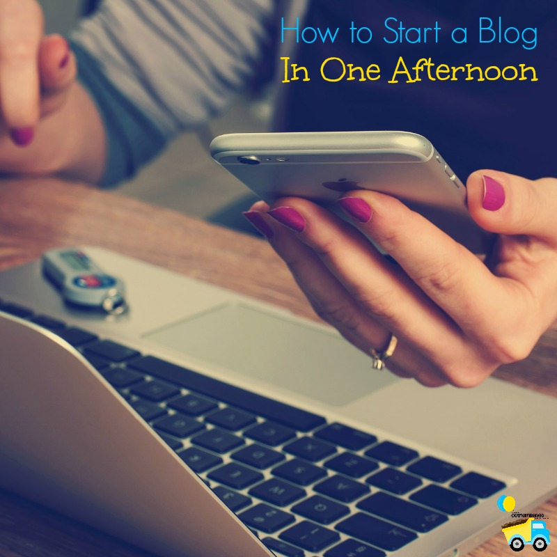 Figuring out how to start a blog can be really intimidating, but I'm holding your hand step-by-step. You can learn how to start a blog in one afternoon!