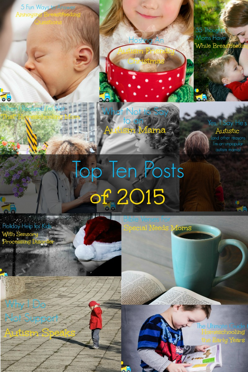 My Top Ten Posts From 2015