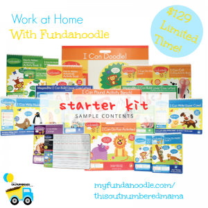 I'm so excited to share a brand new work at home opportunity that's perfect for moms looking to make an income! Work at home with Fundanoodle!