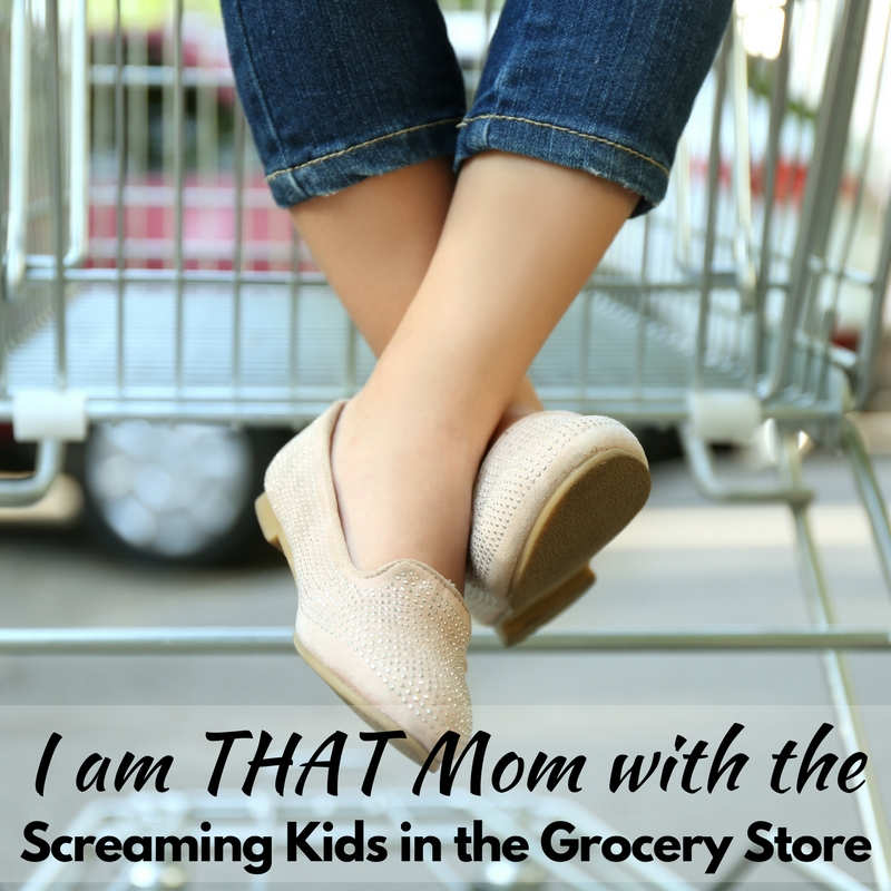 I am THAT Mom with the Screaming Kids in the Grocery Store!