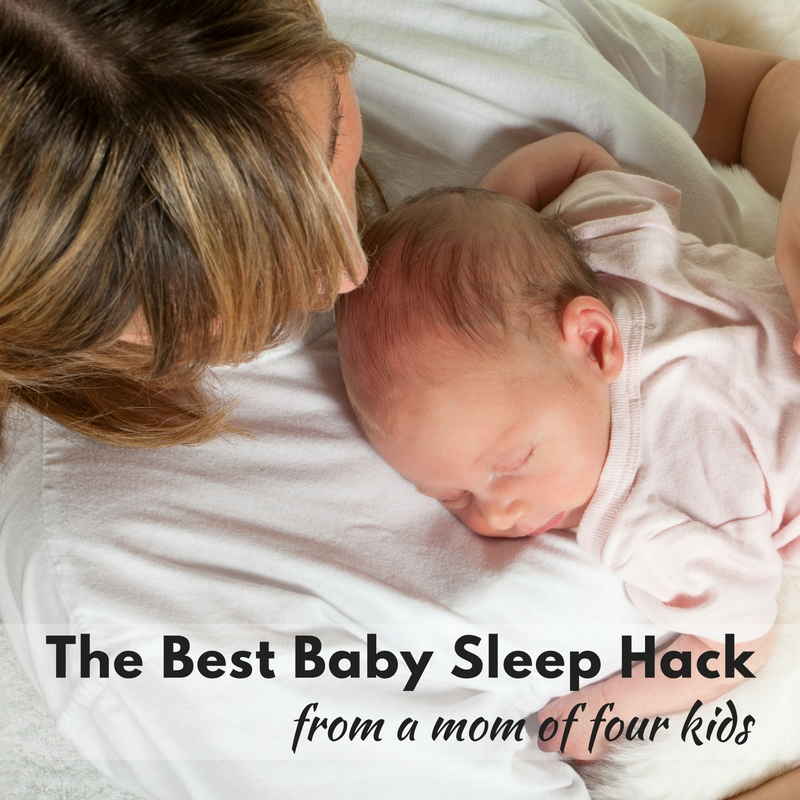 Everyone has advice when you have a baby, and most of it's rubbish. But I'm sharing the best baby sleep hack that's helped all four of my kids sleep!