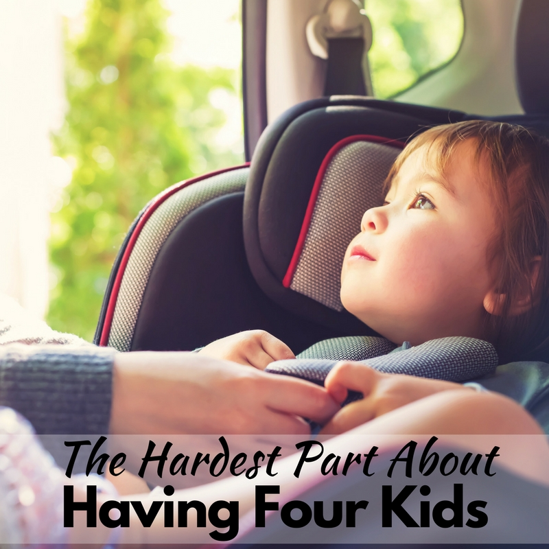 The Hardest Part About Having Four Kids!