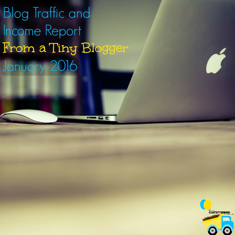 Most of the blog traffic and income reports out there are from bloggers with huge pageviews and paychecks to match. I'm sharing this for the little blogs!