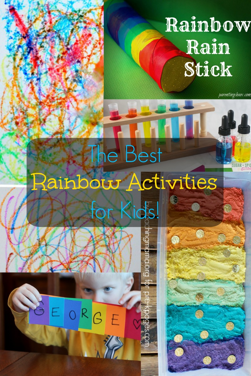 Over 80 Rainbow Activities for Kids