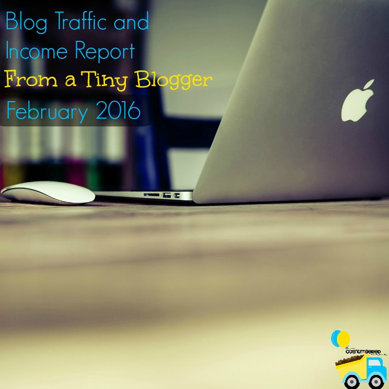Blog Traffic and Income Report for February 2016