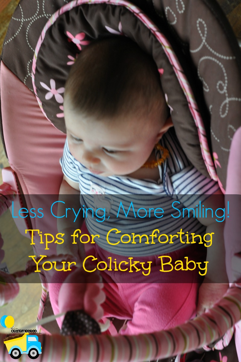 Tips for Comforting Your Colicky Baby