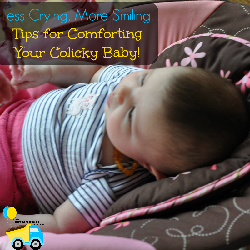 Comforting your colicky baby is no easy task. Thankfully I'm sharing my top tips for comforting your colicky baby!
