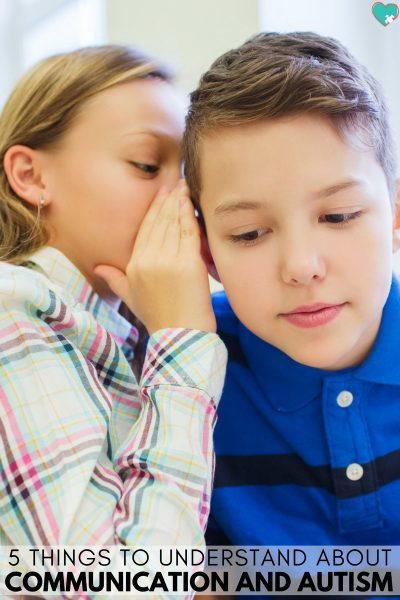 5 Things to Understand About Communication and Autism